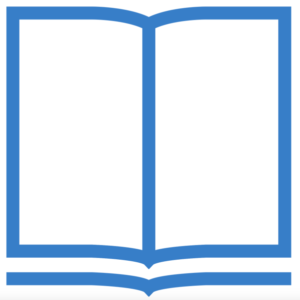 Clipart of a book with pages open