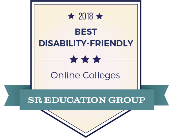 2018 Best Disability-Friendly Online Colleges SR Education Group